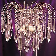 crystal elegance candle centerpiece