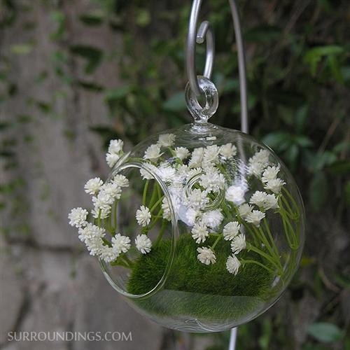 Hanging bubble vase