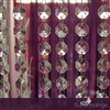 30' Acrylic crystal octagon shaped garland