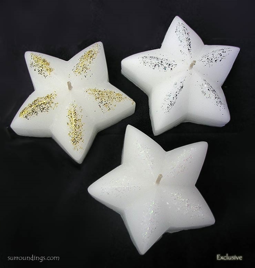 Floating Star Candles