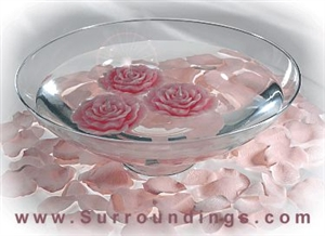 Floating Rose candles Centerpiece