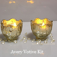 Avery Votive Battery Candle Kit