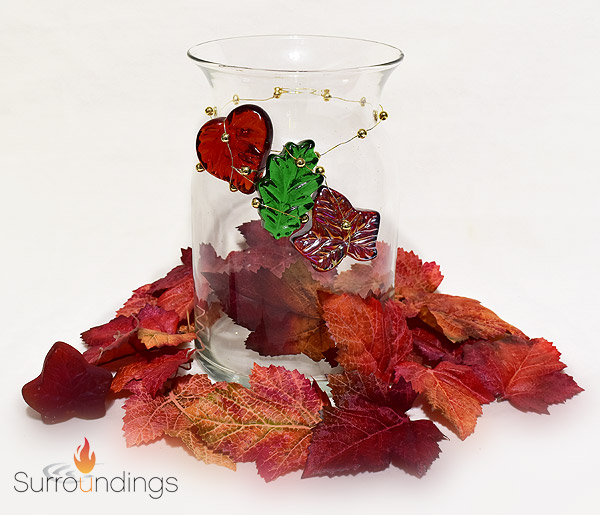 All Fall Leaves Centerpiece
